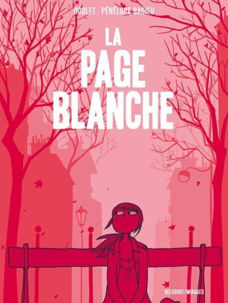 La page blanche - Boulet - Penelope Bagieu - couverture - Une vie douce et legere - Comme une plume
