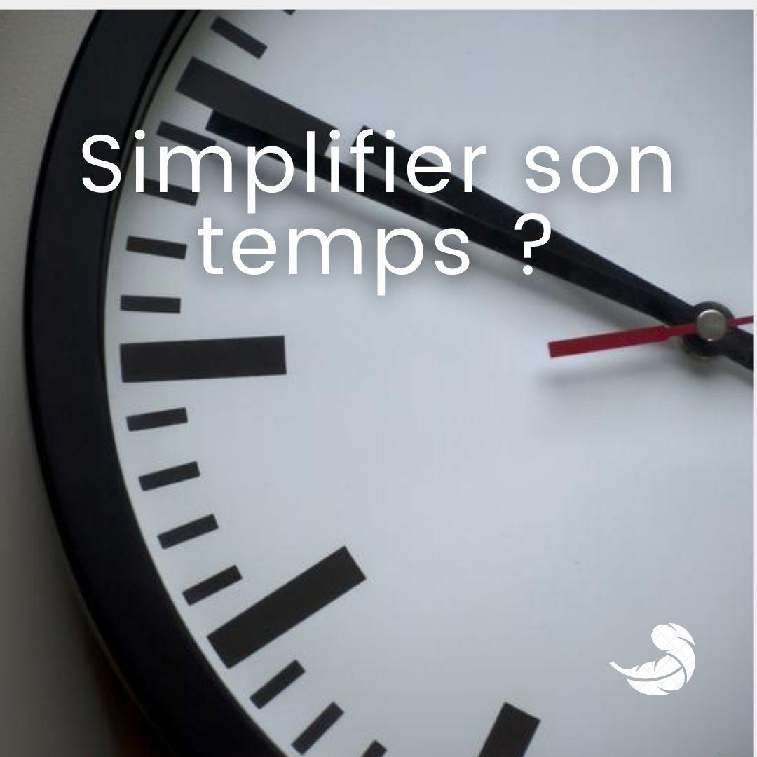 Simplifie ton temps avec comme une plume !